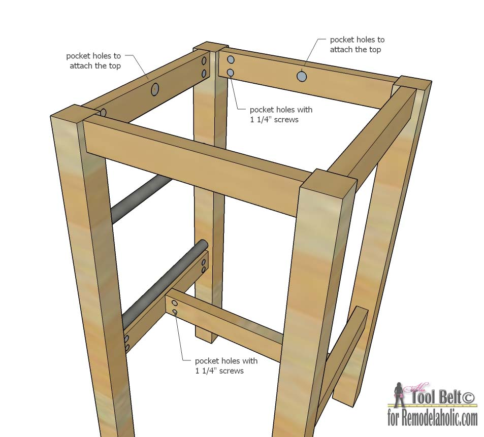 Easily Build Your Own DIY Bar Stools With These Free Plans On  Remodelaholiccom R22