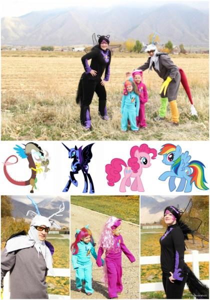 My Little Pony Family Halloween Costumes @remodelaholic