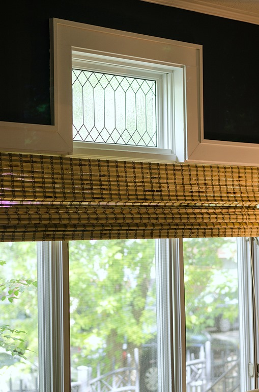 faux leaded glass window, It All Started With Paint on Remodelaholic