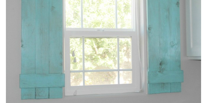 Remodelaholic Diy Interior Window Shutters For Under 20