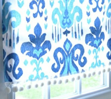 No-Sew Magnetic Window Covering