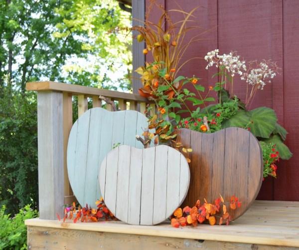 reclaimed wood pumpkins, Kruse's Workshop