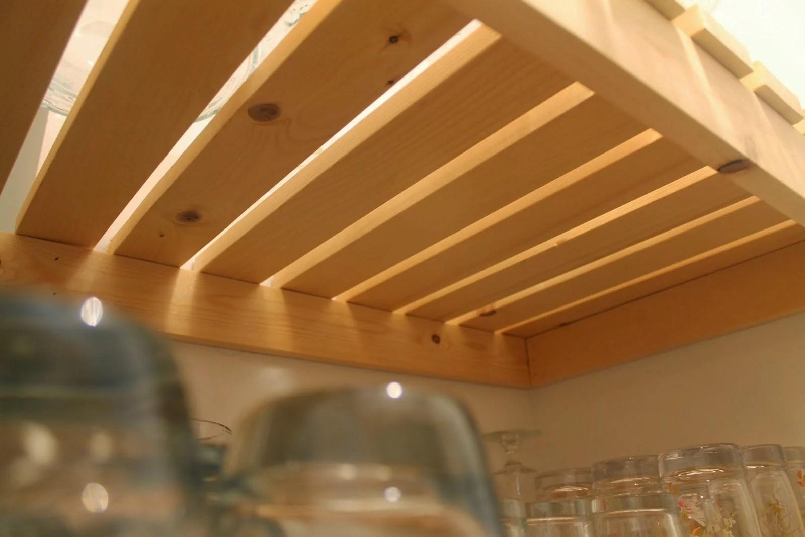 Wood Slat Pantry Shelving Diy Girl Meets Carpenter On Remodelaholic