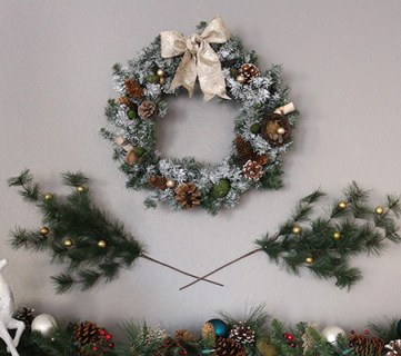 How to Make a Scented Wreath for Christmas