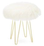 Winter Whites Stool