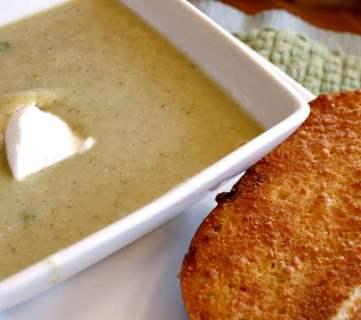 Cream of Broccoli Soup
