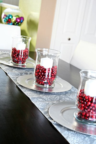 holiday decor food cranberrie