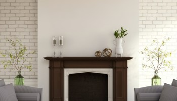 Remodelaholic 25 best diy fireplace makeovers 13 transformative fireplace makeover ideas solutioingenieria Images