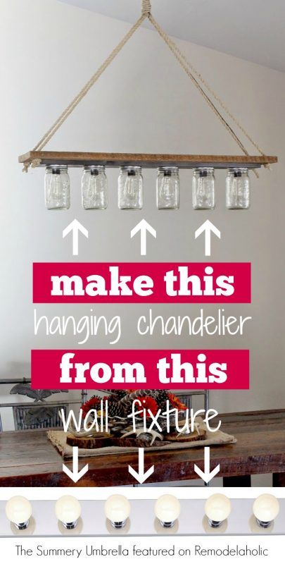 How Repaint Chandelier