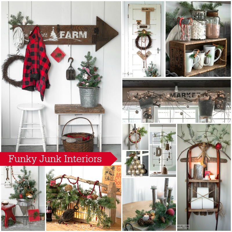 Funky Junk Interiors #12days72ideas