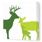 Modern Remodelaholic Xmas Deer Art