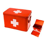 Modern Remodelaholic Xmas Red Cross Box