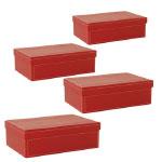 Modern Remodelaholic Xmas Red Boxes