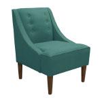 Modern Remodelaholic Xmas Teal Chair