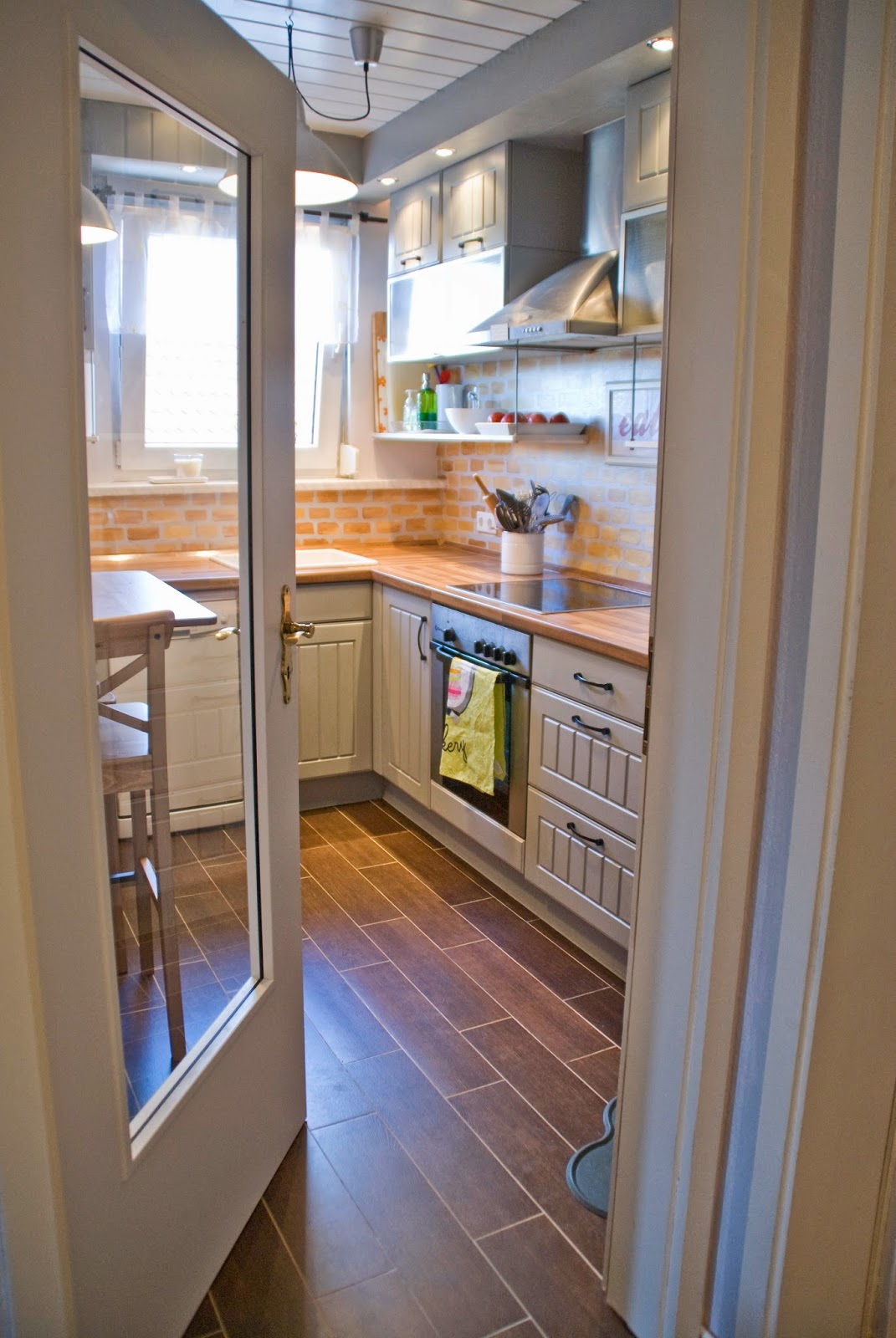 Small Kitchen Remodel   Pudel Design Featured On @Remodelaholic