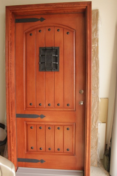 tuscan style front door