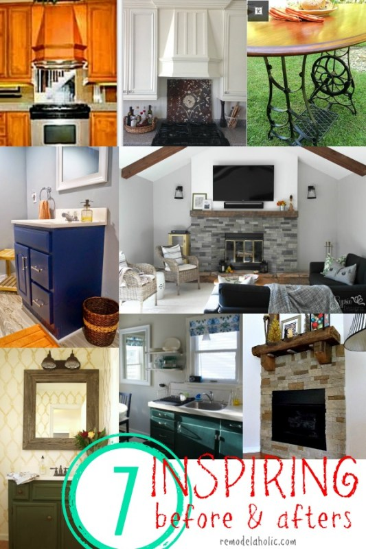 7 Inspiring Before and Afters @Remodelaholic