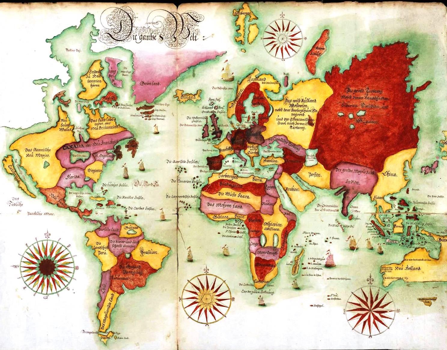 Free Printable World Map Wall Art