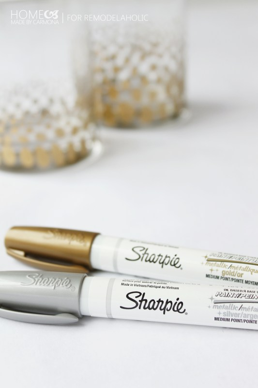 Sharpie oil based paint pens - for Remodelaholic