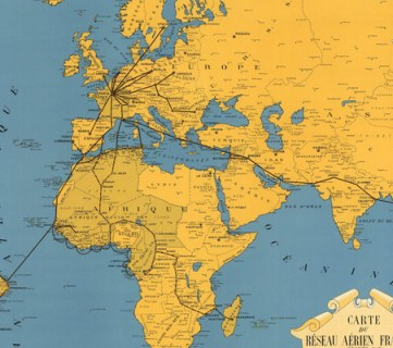 20 Free Vintage Map Printable Images
