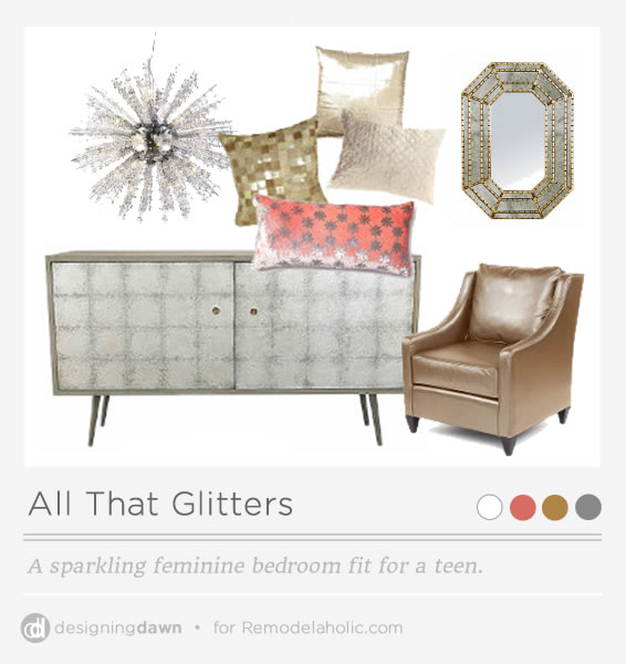 All That Glitters - Pinnable Image - Designing Dawn for Remodelaholic