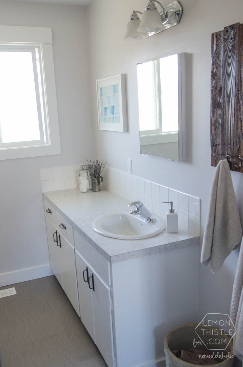 Superieur DIY Bathroom Remodel On A Budget (and Thoughts On Renovating In Phases)