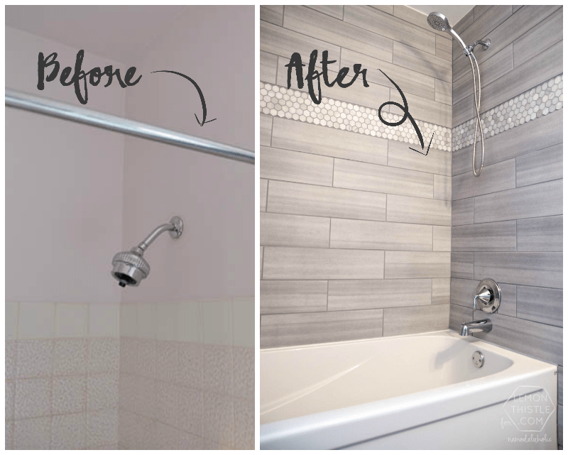 Remodelaholic DIY Bathroom Remodel On A Budget And Thoughts On - Economical bathroom renovations