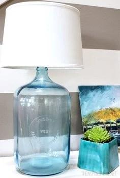 diy bottle lamp 15