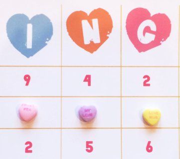 Easy Valentine Printable BINGO Cards, Tags, and Decor