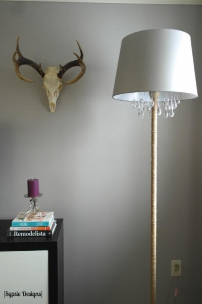 upcycled-DIY-chandelier lamp 8
