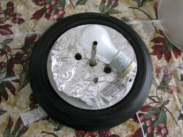 update a standard dome ceiling light to look like Pottery Barn Mia crystal flushmount, step 1 - My So-Called DIY Blog on @Remodelaholic