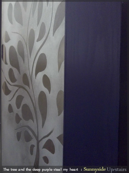 Build an Entry Door with Beautiful Frosted Glass Pane by Sunnyside Up-stairs featured on @Remodelaholic