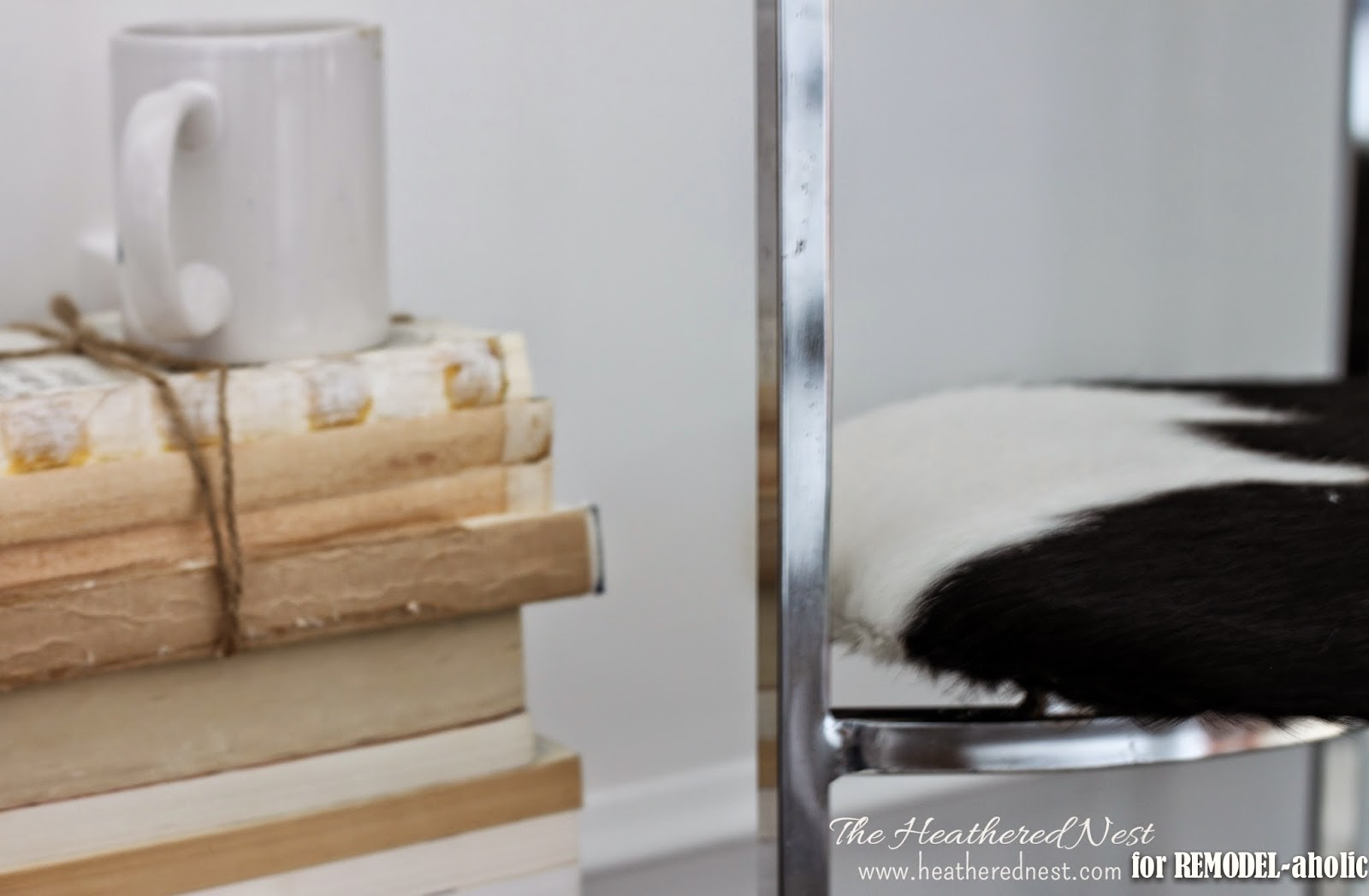 Remodelaholic how to restore rusty chrome chrome chair update and repair by the heathered nest featured on remodelaholic watchthetrailerfo