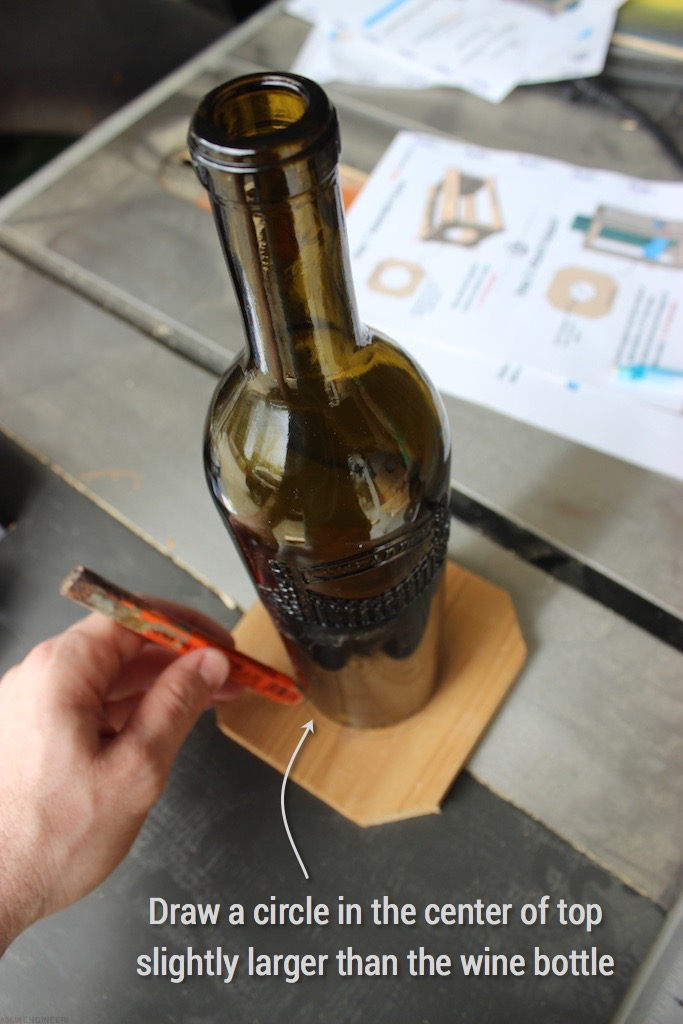 DIY Wine Bottle Bird Feed - Rogue Engineer - Step 1