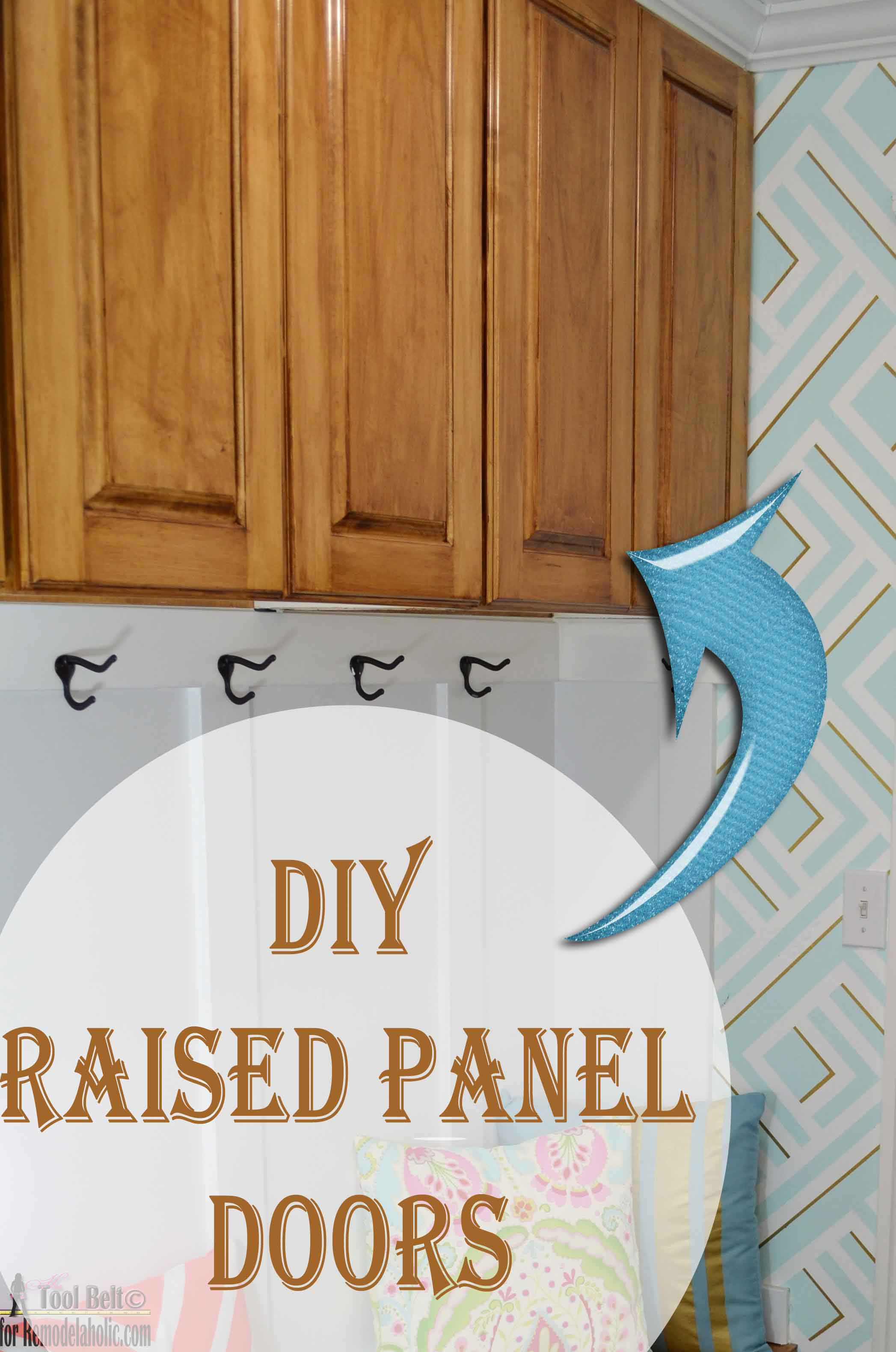 Charmant Build Your Own Custom Raised Panel Cabinet Doors For Your Home Or Projects,  Great Tutorial