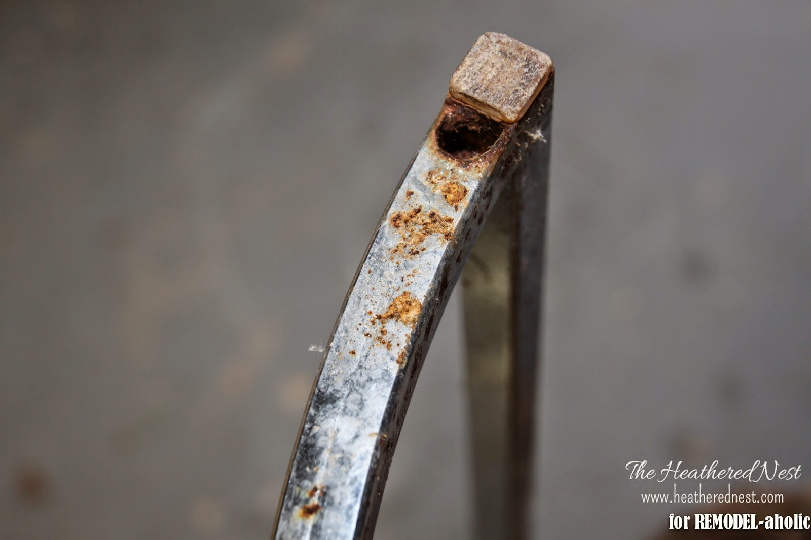 Remodelaholic how to restore rusty chrome how to repair and refinish a rusty chrome by the heathered nest featured on remodelaholic watchthetrailerfo