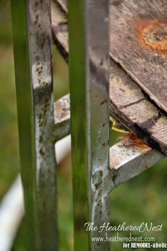 How to repair rusty chrome by The Heathered Nest featured on @Remodelaholic