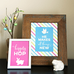 Free Printable Easter and Spring Art