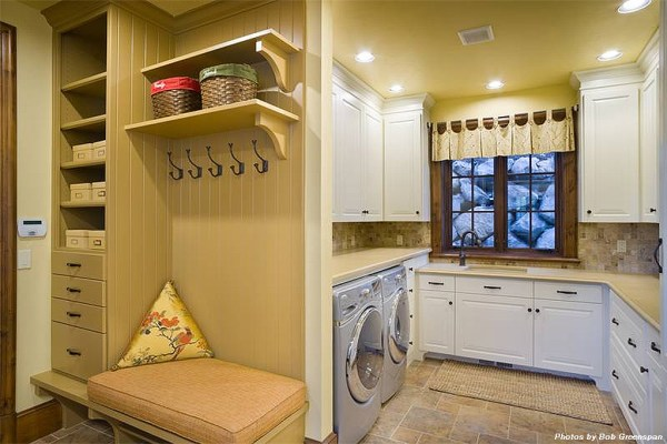 Smart Organizing and Storage Solutions - mud room storage boxes @Remodelaholic