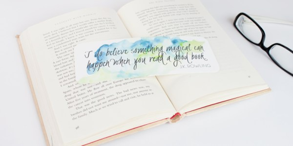 Bookmark Printables @Remodelaholic