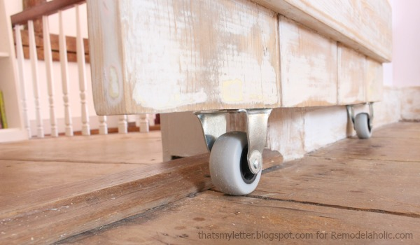 Build an easy DIY sliding barn door : door casters - pezcame.com