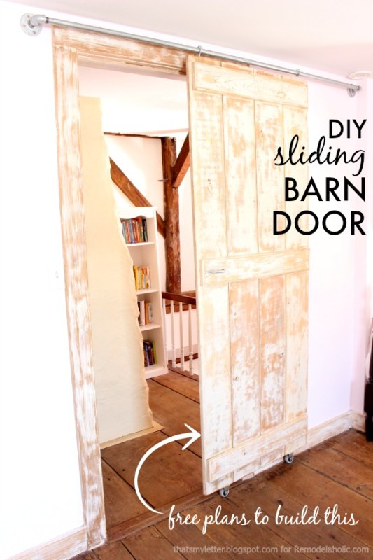 barn door title