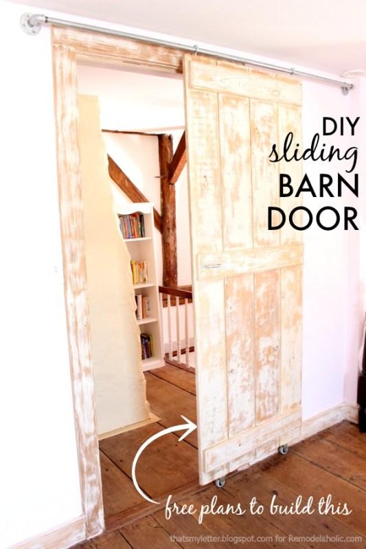 barn door title