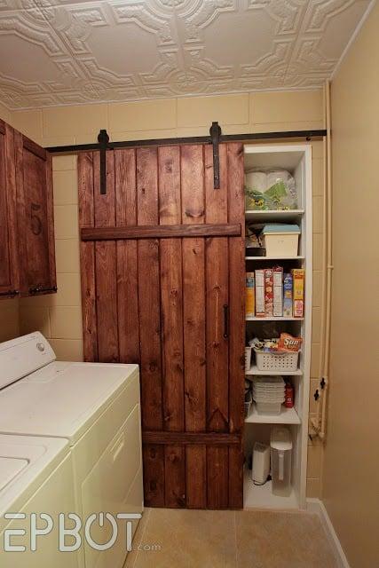 Remodelaholic 35 Diy Barn Doors Rolling Door Hardware Ideas