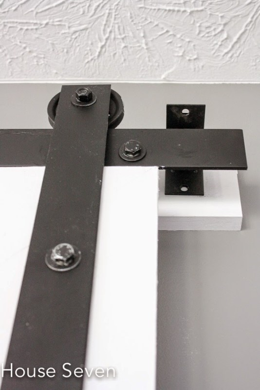 diy barn door rolling hardware - House Seven