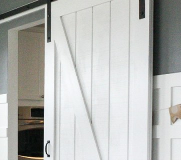 Simple DIY Barn Door Tutorial
