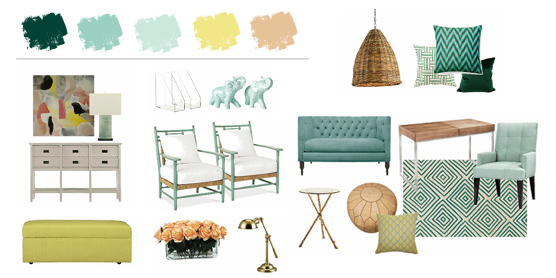 Superbe Color Crush ~ Decorating With Mint Green