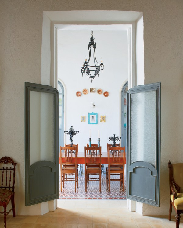 Beautiful Doors - saloon style doors via NYTimes