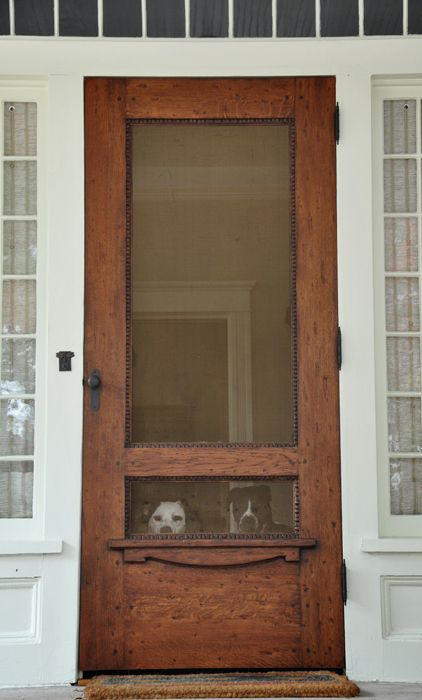 Beautiful Doors   Wood Screen Door Via Neely Design