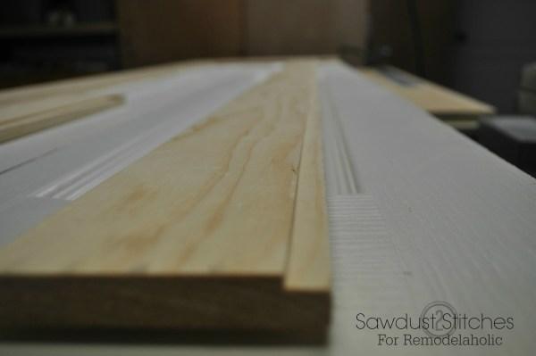 Closet door makeover sawdust2stitches.com